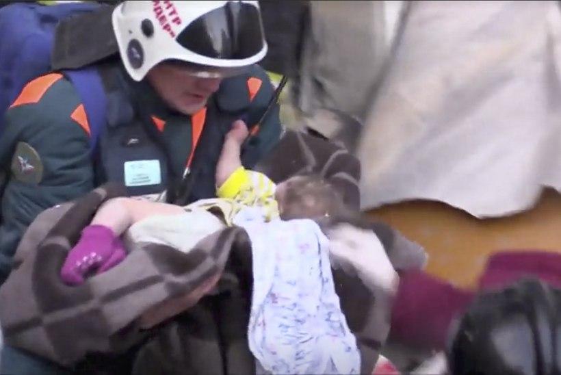 39 HUKKUNUT:  Venemaale tuli uusaasta suurõnnetusega
