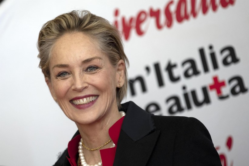 Sharon Stone avaldas üliharuldase perepildi