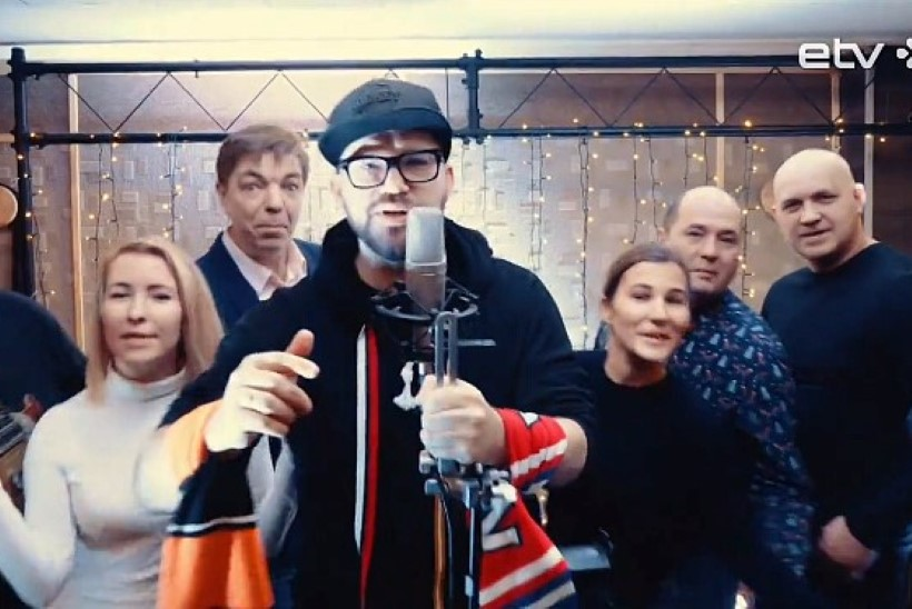 Дружно пропоем Elagu Eesti: мэр Нарвы и другие известные нарвитяне записали рэп (ВИДЕО)
