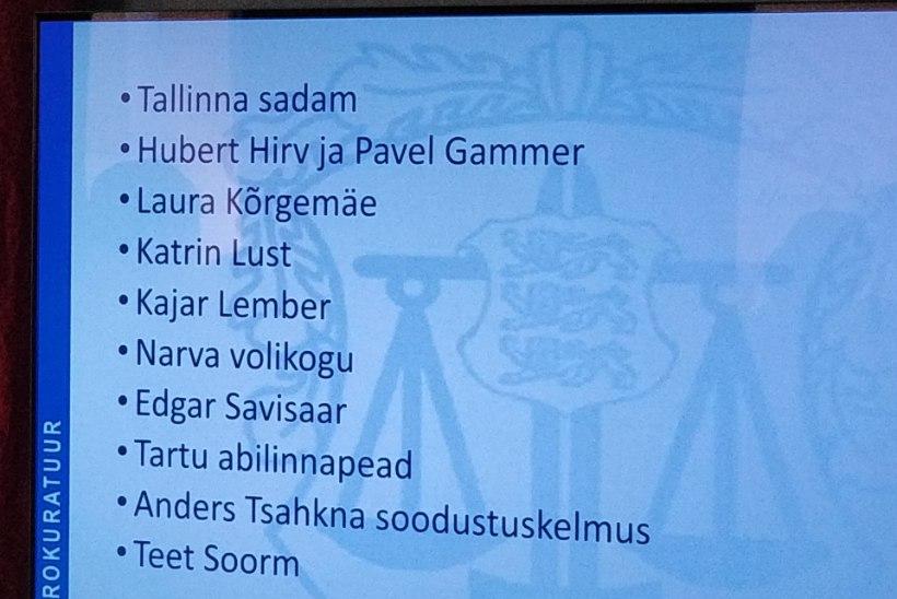 KATRIN LUSTIST TALLINNA SADAMANI | Uue aasta kõige olulisemate kohtuasjade TOP 10