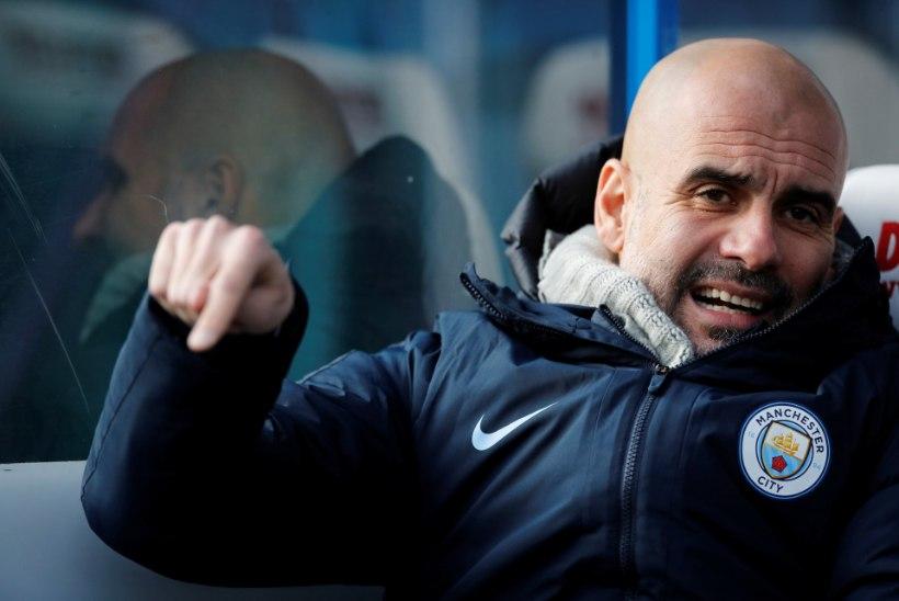 Pep Guaridola Manchester City ilueedidele: visake oma juuksegeelid ja nahaniisutajad minema ning keskenduge jalgpallile!