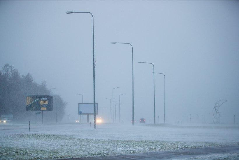 Maanteeamet hoiatab: teedel võib olla halb nähtavus