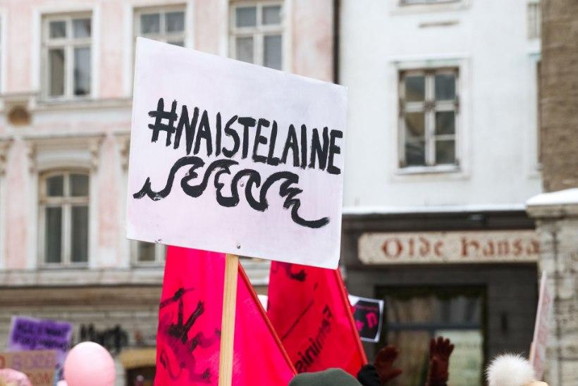 NAISTE MARSIST NAISTE KÄTŠIKS: poliitikud tõrvavad üksteist sotsiaalmeedias