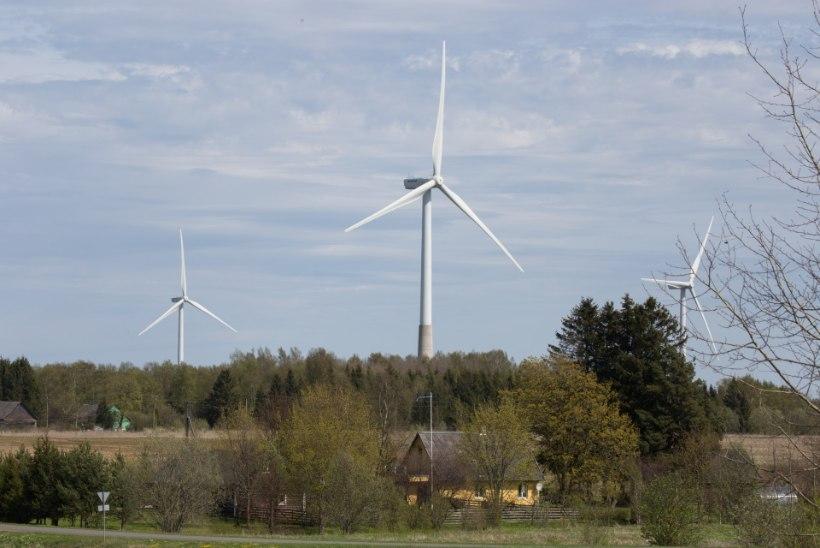 Taastuvenergia kattis möödunud aastal 17 protsenti elektri kogutarbimisest