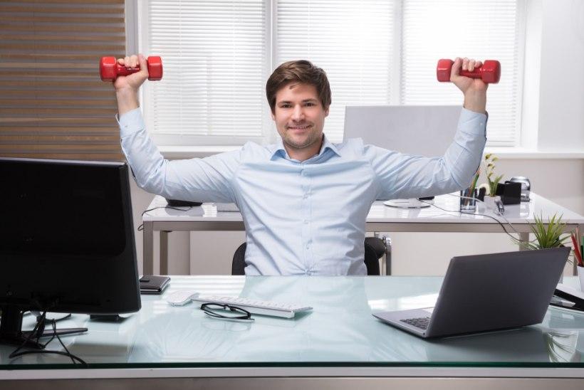VIDEO | Kasulikud harjutused kontoritööst väsinud õlavöötme virgutamiseks