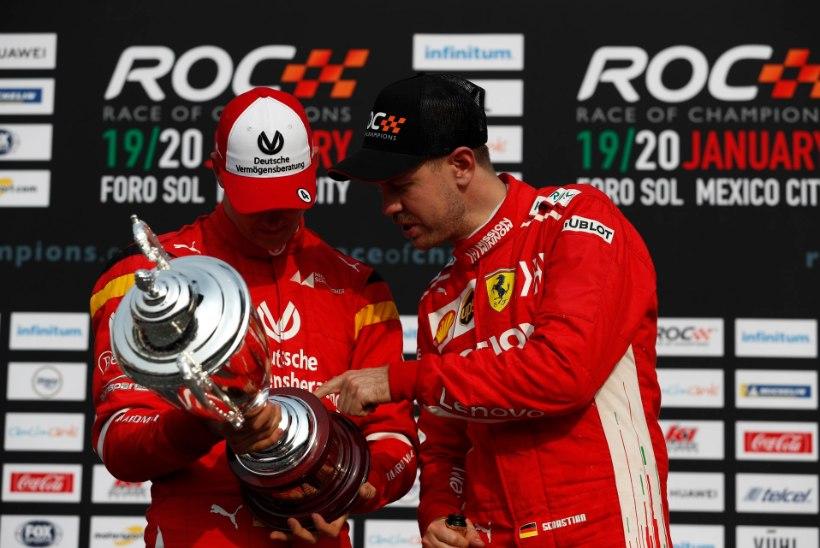 """Vana tandem jälle koos – Vettel ja Schumacher! """"Michael oleks uhke."""""""