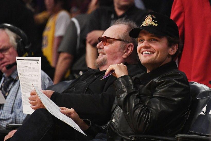 81aastasel Jack Nicholsonil on väga nägus poeg!