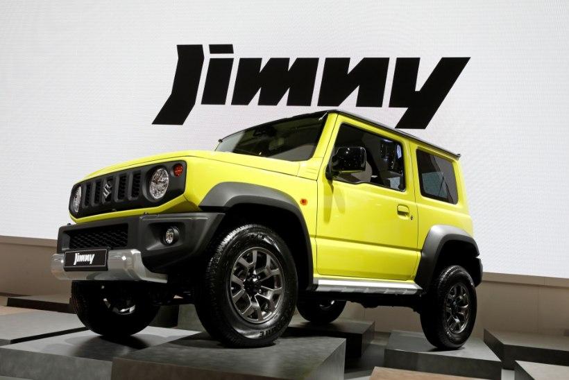 Suzuki Jimny, tõenäoliselt maailma ehedaim väikemaastur