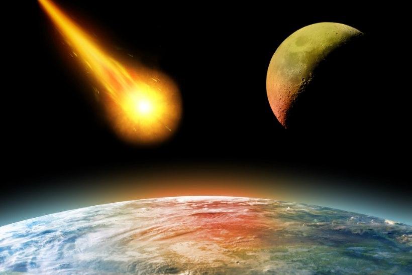 PAANIKALAINE: kas tõesti tabab Maad 2068. aastal tapjaasteroid?
