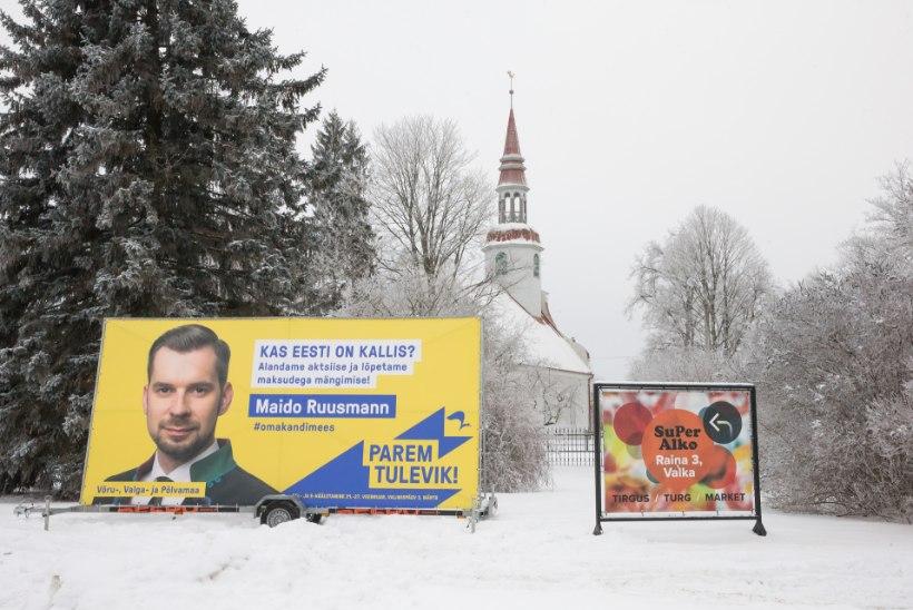 REFORMAR RIKUB SEADUST: plakatid Lätis tuleb maha võtta või tõlkida