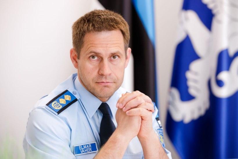 Politseijuht Elmar Vaher teenib 5800 eurot kuus