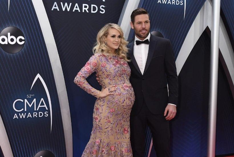 Carrie Underwood sai mitme nurisünnituse järel teise lapse