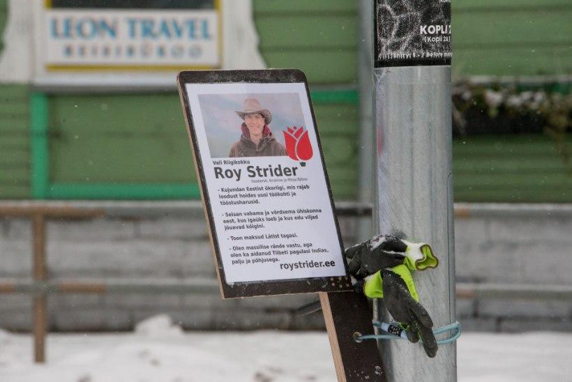 Roy Strider kempleb siseministeeriumiga kodanikunimest vabanemiseks