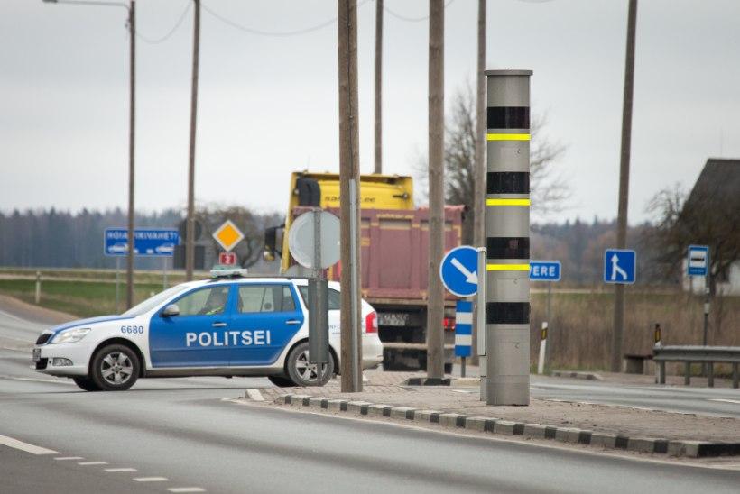 ÜLE 5300 KIIRUSEÜLETAMISE AASTAS: kas väljakutsele kihutav alarmsõiduk peab trahvi maksma?