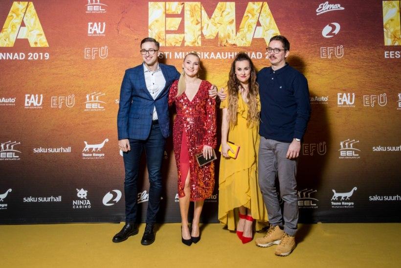 TOP 15   Eesti muusikaauhindade kuldse vaiba kõige silmapaistvamad kostüümid