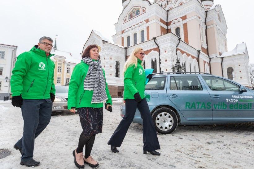 Peeglike, peeglike seina peal, milline on stiilseim partei Eesti peal?