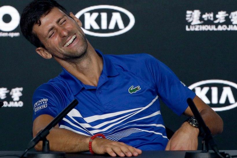 TWITTERI-MÖLL   Fantastiline Djokovic tegi ajalugu ja pani ajakirjanikud siiralt naerma