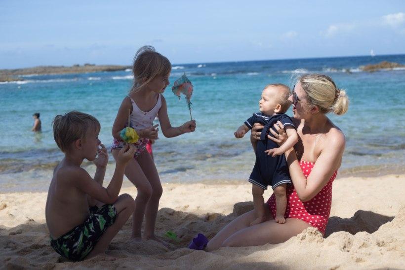 """VALID PUHKUSEREISI? Nelja lapse ema Liina Pulges: """"Enne lastega reisile minekut tasub teha eeltööd."""""""