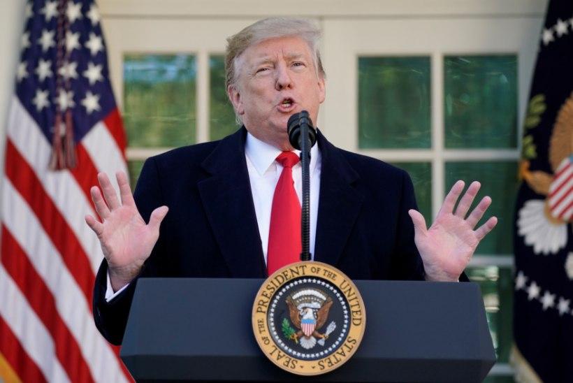 100 MILJARDIT: NATO peasekretär tänas Donald Trumpi