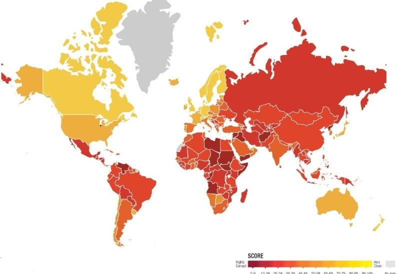 Eesti tõusis korruptsioonitaju pingereas maailmas kolm kohta kõrgemale