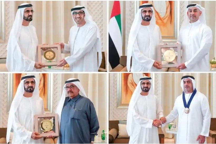 NALJANUMBER: kõiki Araabia soolise võrdsuse auhindu tulid vastu võtma mehed