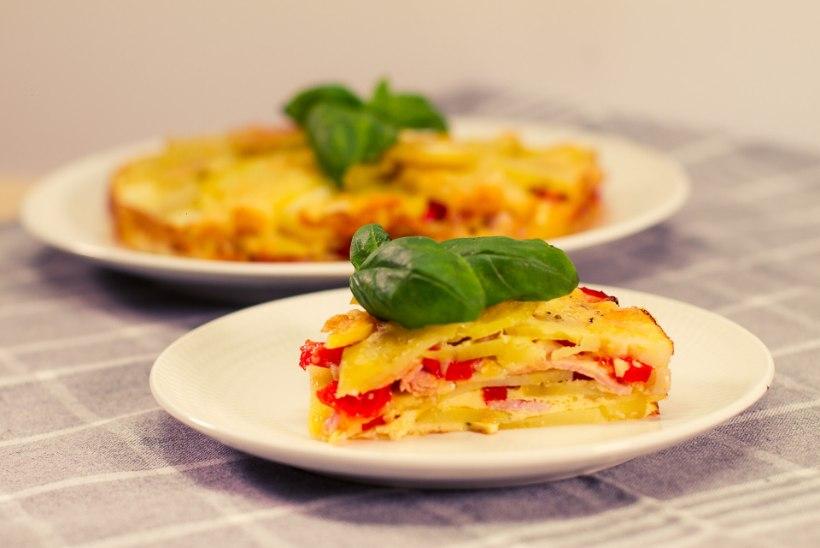 SELVERIGA KÖÖGIS   Hispaania munaroog ehk tortilja peekoniga