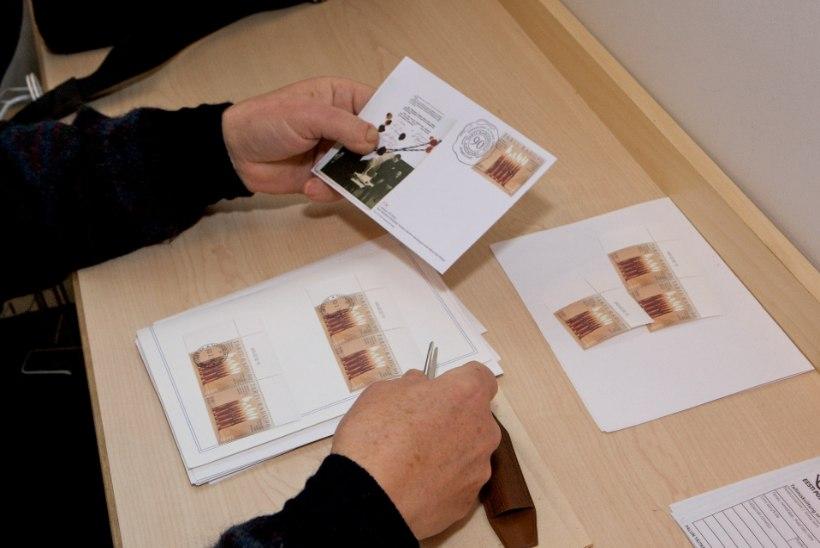 Postmarkide puudusel jäid paljudel aasta lõpus jõulukaardid saatmata