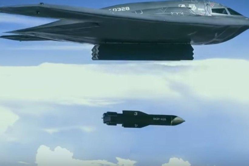 USA strateegiline väejuhatus vabandas maitsetu pomminalja pärast