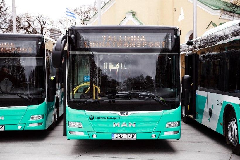 Bussikaos Tallinnas võib kesta kuni kaks kuud