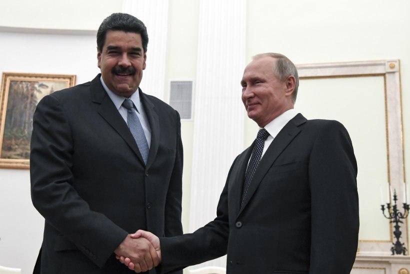 Venezuela president Maduro: Vladimir Putin aitab meid alati ja igal moel!