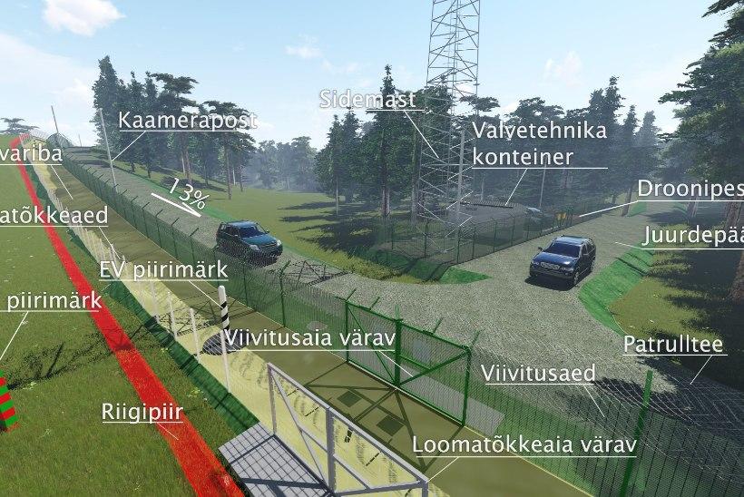 VIDEOD   PPA kuulutas välja esimese idapiiri ehituse hanke: ehitustööd pole enam kaugel