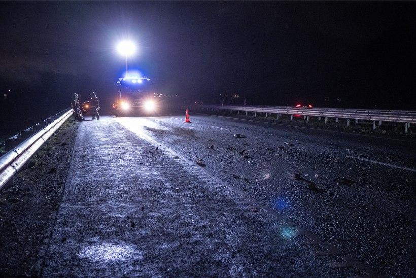 ETTEVAATUST, LIBE! Tallinna-Narva maanteel juhtunud õnnetuse tõttu vajas tervisekontrolli 9aastane poiss