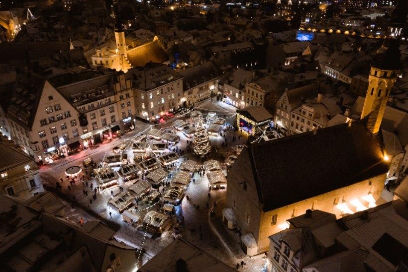 Tallinna jõuluturg on avatud esmaspäevani