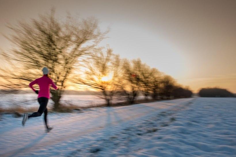 Neli põhjust, miks talviti jooksmisega jätkata