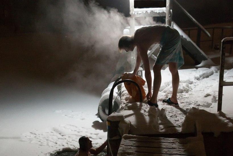 INIMKATSE: kas saunaguru suudab lendama viia?