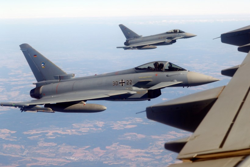 Saksa hävituslennukid teevad uuel nädalal Eesti kohal harjutuslende