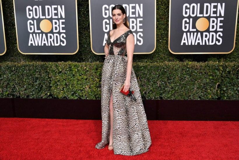 Anne Hathaway ja Heidi Klum juhivad Kuldgloobuste kolekleitide pingerivi