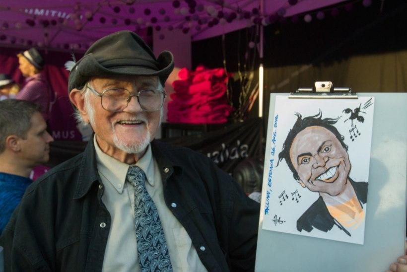 TV3 VIDEO | Karikaturist ja saržimeister Hugo Hiibus pidas 90. sünnipäeva