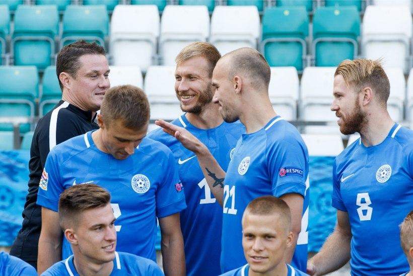 Eesti ja Soome koondiste jalgpallimängust näeb otsepilti