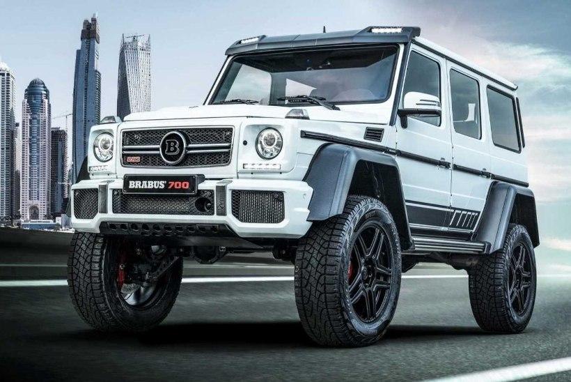 """Salasõna """"Brabus!"""": unikaalne G-klassi Mercedes-Benz läheb 5 sekundiga sajani"""