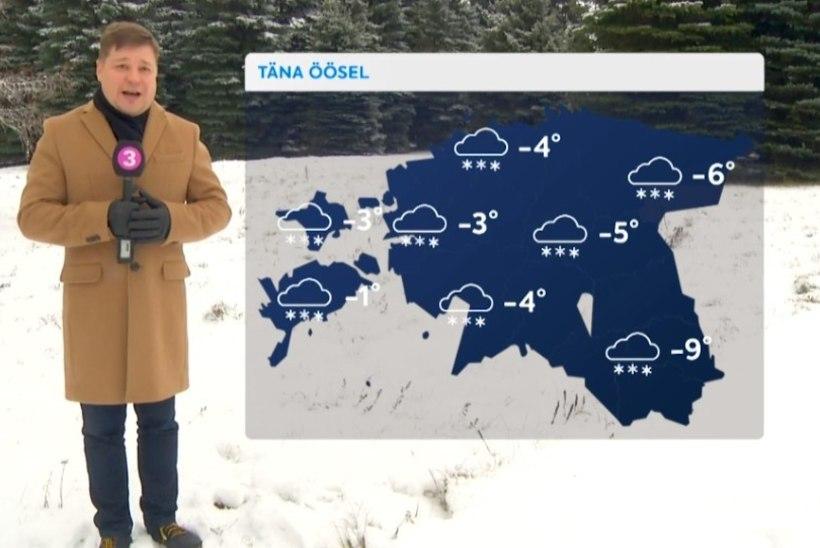TV3 VIDEO | Kolmapäeval sajab mitmel pool lund