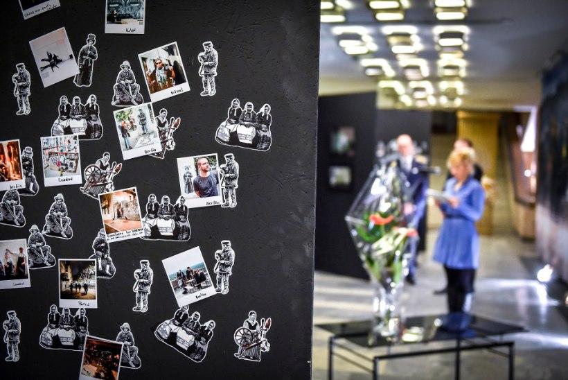 GALERII | Välisministeeriumi kultuuripreemia pälvis salajane tänavakunstnik Edward von Lõngus