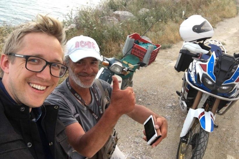 Tsikliga läbi Euroopa sõitnud Johannes Tralla: täitsin suvega kümne aasta sõidunormi