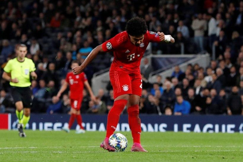 MEISTRITE LIIGA: Bayern alandas võõrsil mullust finalisti Tottenhami