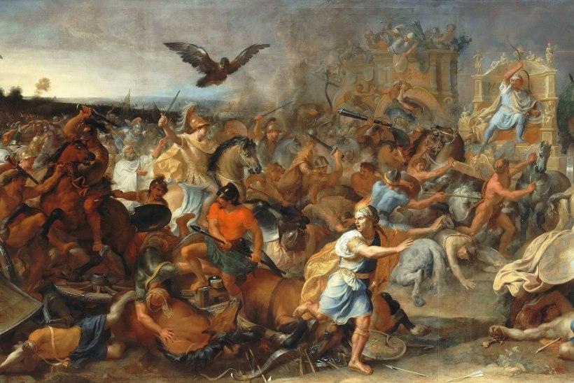 MINEVIKUHETK | 1. oktoober: Aleksander Suur lõi Gaugamela lahingus pärslaste suurt sõjaväge