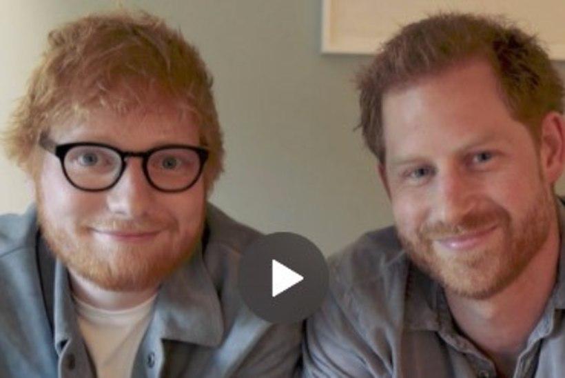 PUNAPEAD JA NALJANINAD: Sheeran ja Harry avaldasid ühise sketši