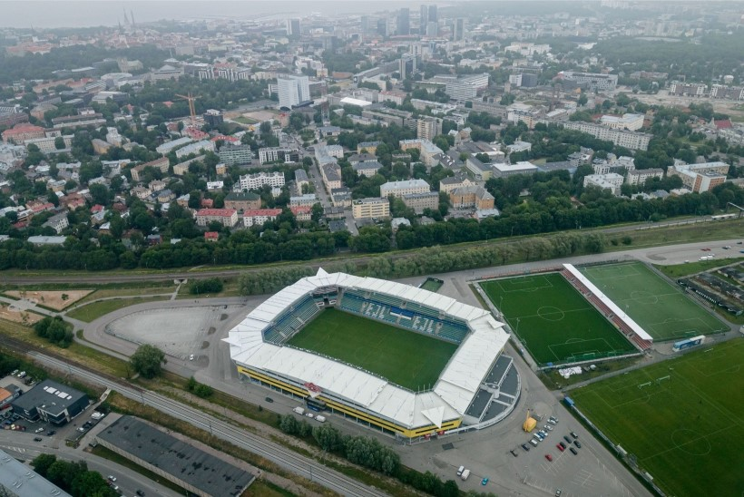 """RETRO! Kuidas valmis Lilleküla staadion? Jüri Mõis: """"Armee ja jalgpall on riigile võrdse tähtsusega."""""""