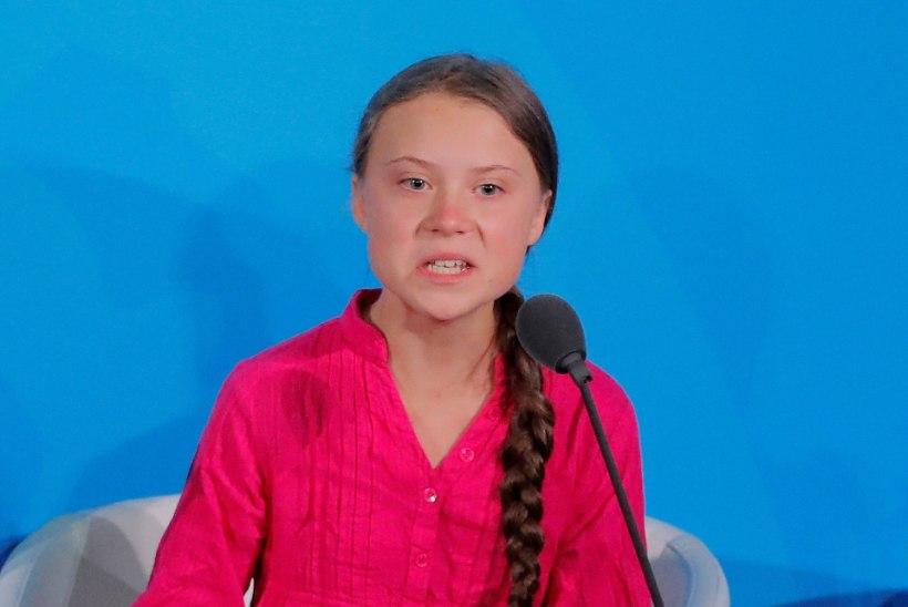 KUULA   Greta Thunbergi emotsionaalne ÜRO kõne miksiti kokku legendaarse tantsumuusikahitiga