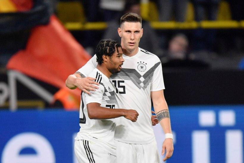 Peagi Eestisse saabuv Saksamaa mängis Argentina vastu maha 2 : 0 edu
