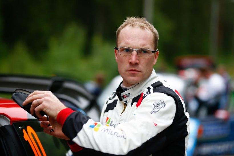 Soome ralliäss kommenteeris esimest korda oma suhtedraamat